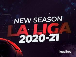 Legalbet.com: Real Madrid, Barcelona or Atletico? Sports betting on the 2020-21 La Liga season.
