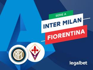 Mario Gago: Apuestas y cuotas Inter de Milán - Fiorentina, Serie A 2020/21.