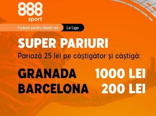 legalbet.ro: Cote foarte atractive la 888 Sport pentru duelul dintre andaluzi şi catalani!.