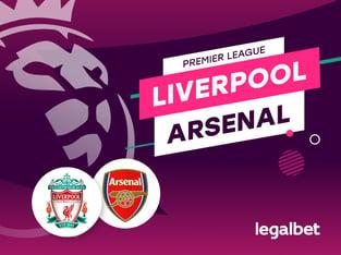 Antxon: Apuestas y cuotas Liverpool - Arsenal, Premier League 2020/21.