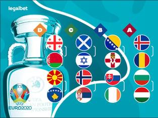 Legalbet.ru: Жеребьевка стыков Евро-2021: кого букмекеры считают фаворитами?.