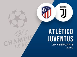legalbet.ro: Atletico Madrid - Juventus Torino: prezentare cote la pariuri si statistici.