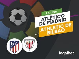 Antxon Pascual: Apuestas y cuotas Atlético de Madrid - Athletic Club, La Liga 2020/21.