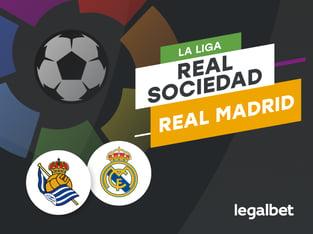 Antxon: Apuestas y cuotas Real Sociedad - Real Madrid, La Liga 2020/21.