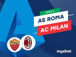 Mario Gago: Apuestas y cuotas AS Roma - AC Milan, Serie A 2020/21.