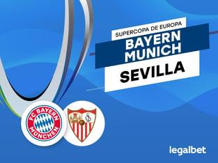 Antxon: Apuestas y cuotas Bayern Múnich - Sevilla, Supercopa de Europa 2020.
