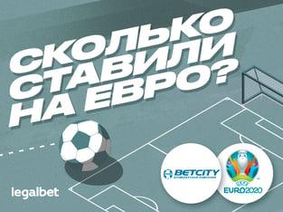 Андрей Музалевский: Betcity: объем ставок на Евро-2020 превысил 150 миллионов рублей.