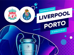 legalbet.ro: FC Liverpool - FC Porto: prezentare cote la pariuri si statistici.