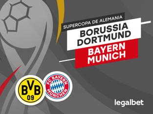 Antxon: Apuestas y cuotas Bayern Munich - Borussia Dortmund, Supercopa de Alemania 2020.