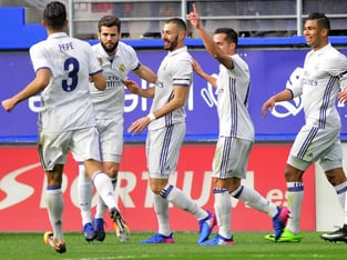 Promoción SPORTIUM: Real Madrid gana al Eibar a cuota 5.00.