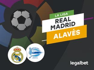 Antxon: Apuestas y cuotas Real Madrid - Alavés, La Liga 2020/21.