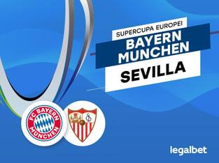 marcobirlan: Bayern Munchen vs Sevilla – cote la pariuri, ponturi si informatii.