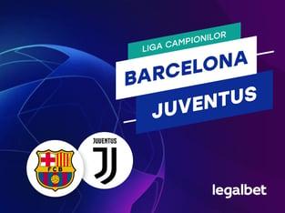 Cristian M: Barcelona - Juventus - ponturi la pariuri Champions League.