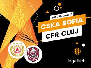Karbacher: ŢSKA Sofia - CFR Cluj: cote la pariuri şi statistici.