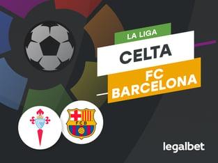 Antxon: Apuestas y cuotas Celta - Barcelona, La Liga 2020/21.
