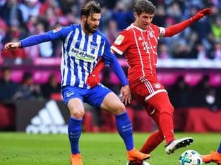 legalbet.ro: Hertha BSC Berlin - Bayern Munchen: prezentare cote la pariuri si statistici.