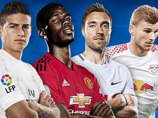 Archie23: Экспресс на футбольные воскресные матчи европейских чемпионатов.