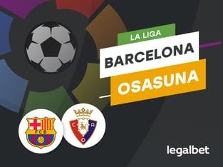 Antxon Pascual: Apuestas y cuotas Barcelona - Osasuna, La Liga 2020/21.