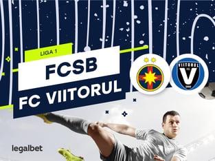 Karbacher: FCSB vs FC Viitorul: cote la pariuri şi statistici.