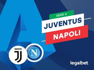 Mario Gago: Apuestas y cuotas Juventus - Napoli, Serie A 2020/21.