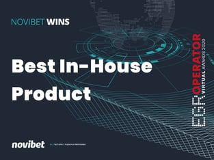 "Legalbet.uk: Novibet Wins ""Best In-House Product Award""."