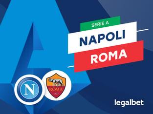 Mario Gago: Apuestas y cuotas Napoli - Roma, Serie A 2020/21.