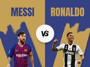 Alexandros: Ronaldo vs Messi: Σε ποιον αξίζει να ποντάρουμε ότι θα σκοράρει;.