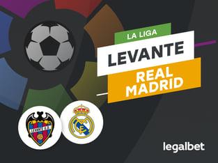 Antxon: Apuestas y cuotas Levante - Real Madrid, La Liga 2020/21.