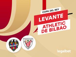 Antxon Pascual: Apuestas y cuotas Levante - Athletic de Bilbao, Copa del Rey 2020/21.
