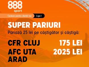 legalbet.ro: Cluj vs Arad, la cote prea mari, prea ca la ţară.