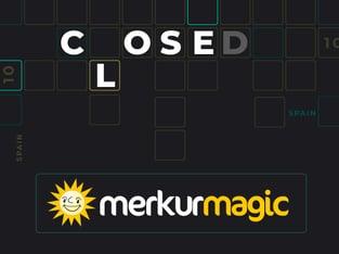 Legalbet.es: Merkurmagic no continuará operando en España desde el 9 de Octubre.