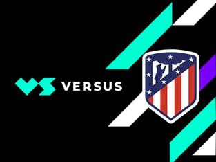 Legalbet.es: VERSUS se convierte en el nuevo patrocinador del Atlético de Madrid.