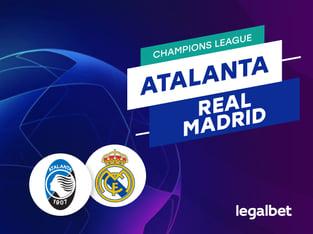 Mario Gago: Apuestas y cuotas Atalanta - Real Madrid, Champions League 2020/21.