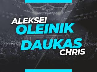 Legalbet.uk: Aleksei Oleinik vs. Chris Daukas: Analysis and Odds on the Fight.