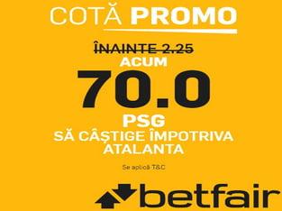 legalbet.ro: Atalanta vs PSG, ia-ţi cota dolofană pentru Champions League!.